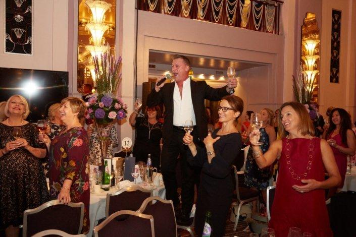 Surprise singing corporate event