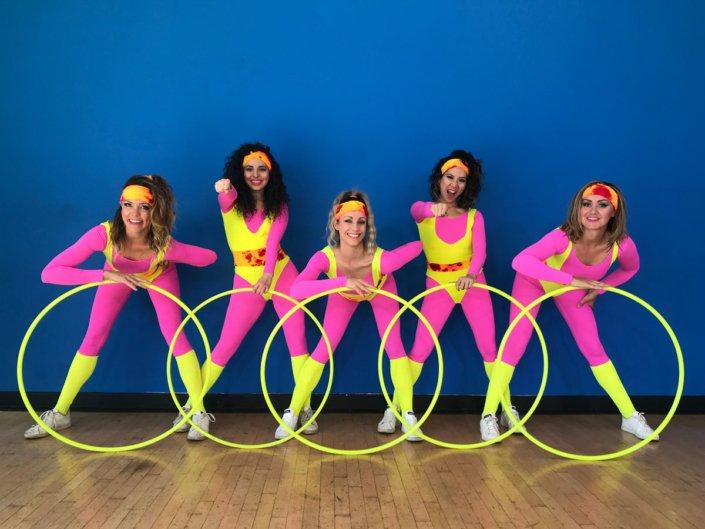 Hoop dancers dance costumes