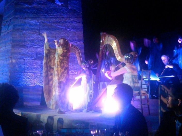 LED Harpists